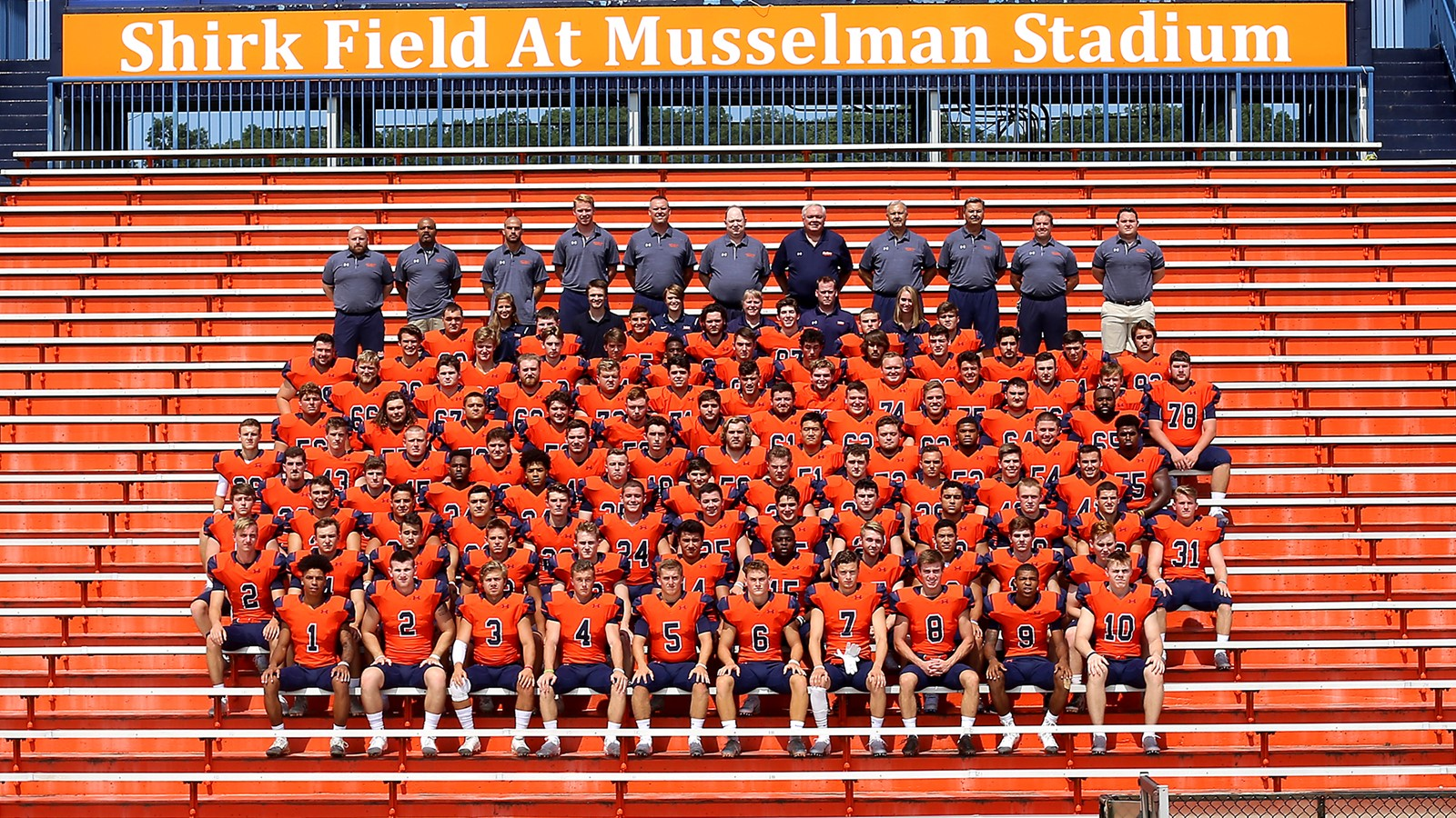 2018 Football Roster Gettysburg College Athletics